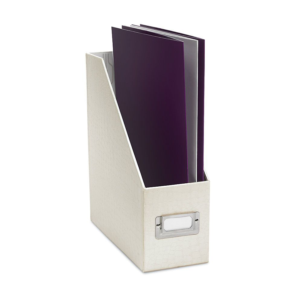 Office Depot Magazine Holder Realspace Magazine Holder Cream Crocodile by Office Depot Moms 10
