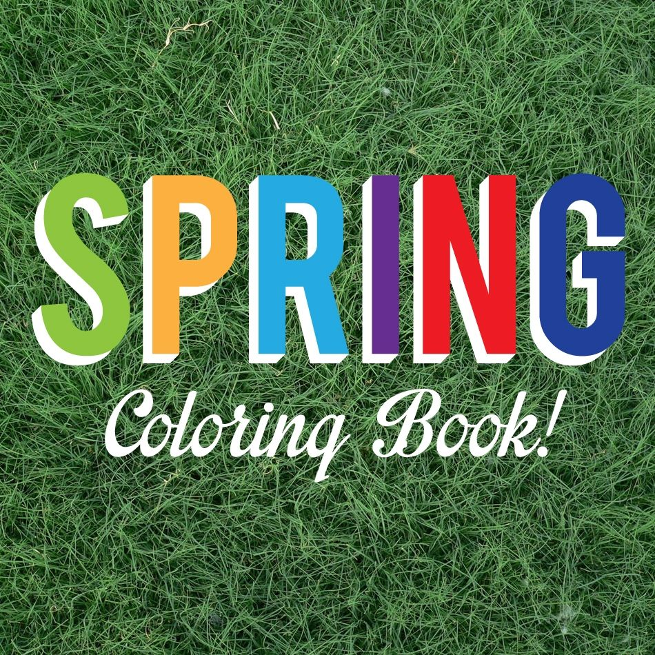 Educents Spring Coloring Book Free!