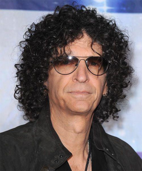 Howard Stern Long Curly Black Hairstyle Mens Hairstyles Curly Hair Styles Hair Styles
