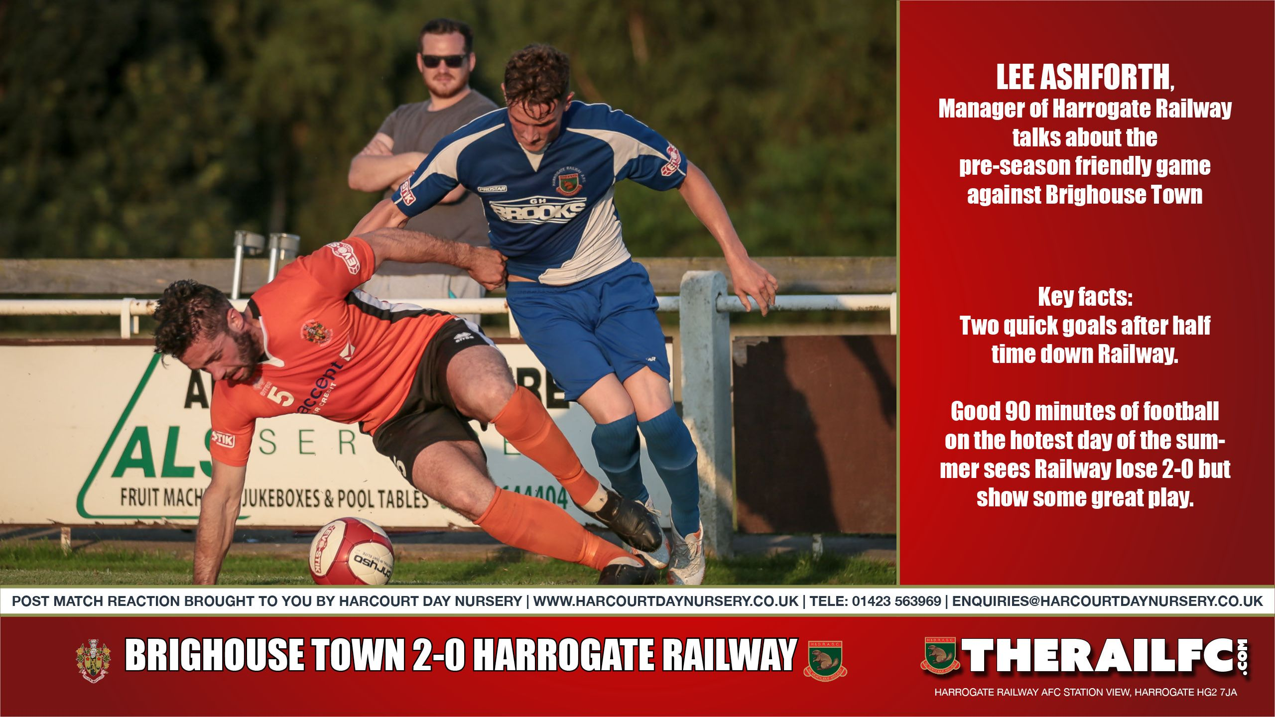 Brighouse Town Post Match Reaction (audio) https