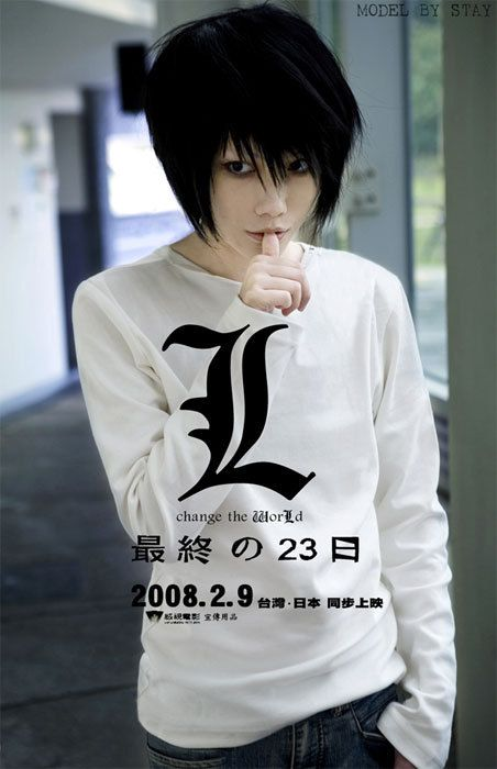 L cosplay | Death note cosplay, Cosplay outfits, Manga cosplay
