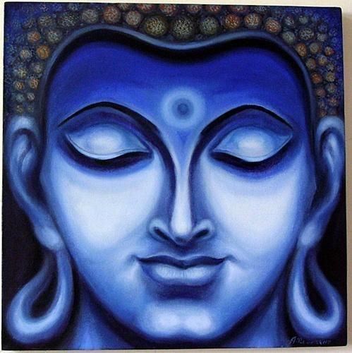 Buddha Oil Paintings On Canvas
