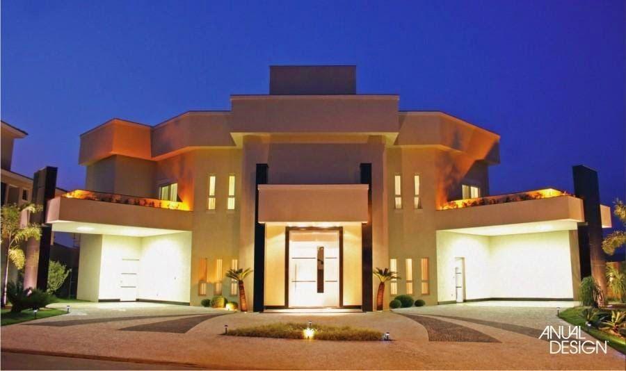 Fachada casa moderna terrea sobrado entrada principal - Entradas de casas modernas ...