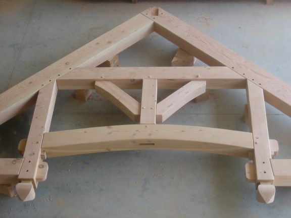 Davis Hammerbeam Truss Pacific Post Amp Beam House In