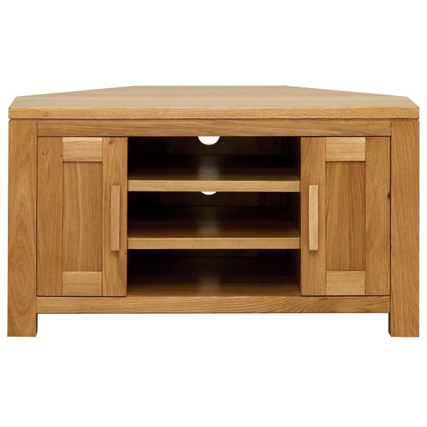 Payless Furniture Store Dining Room Tables: Seville Oak Corner TV Unit