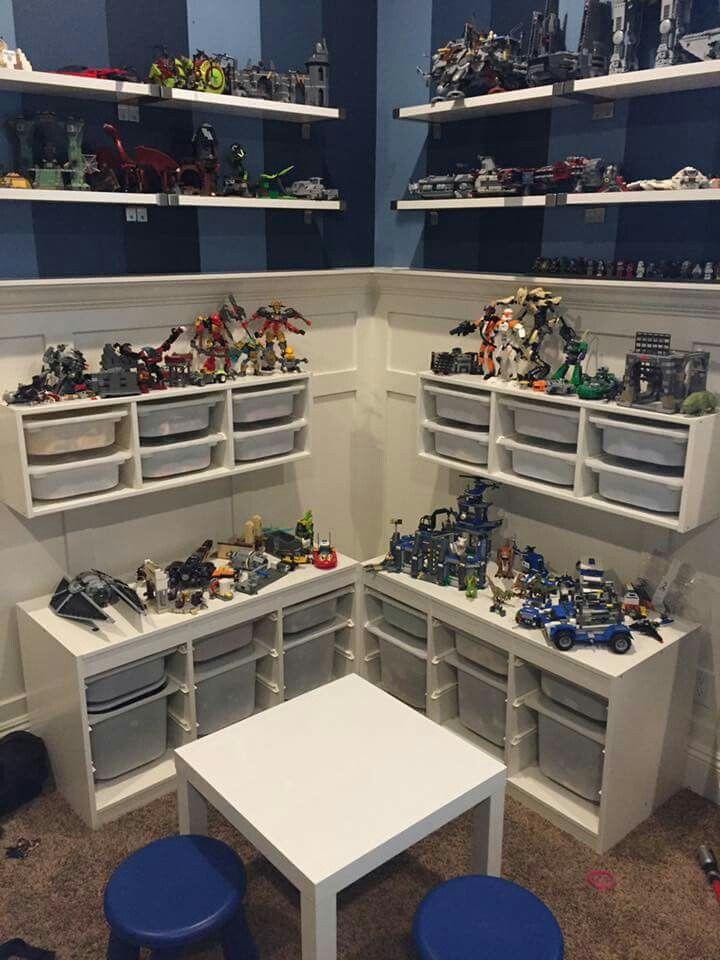 Lego Organization Playroom Shelves Playroom