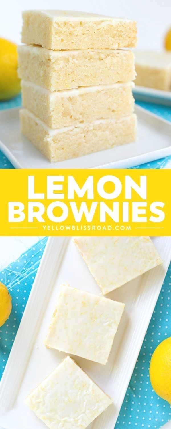 Theyre super easy to make and the fresh keeps the bars tasting so light For an extra pop of flavor add a lemon glaze to the top via yellowblissroad Sweet and tangy Lemon...