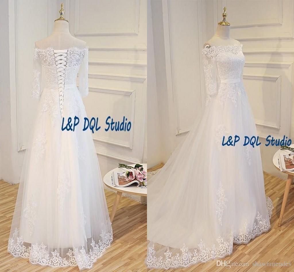 Wedding dresses with beading   Beach Wedding Dresses FloorLengthSweep Train ivory Wedding