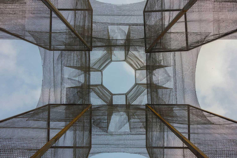 'Incipit' Wire Mesh Sculpture by Edoardo Tresoldi   Yellowtrace