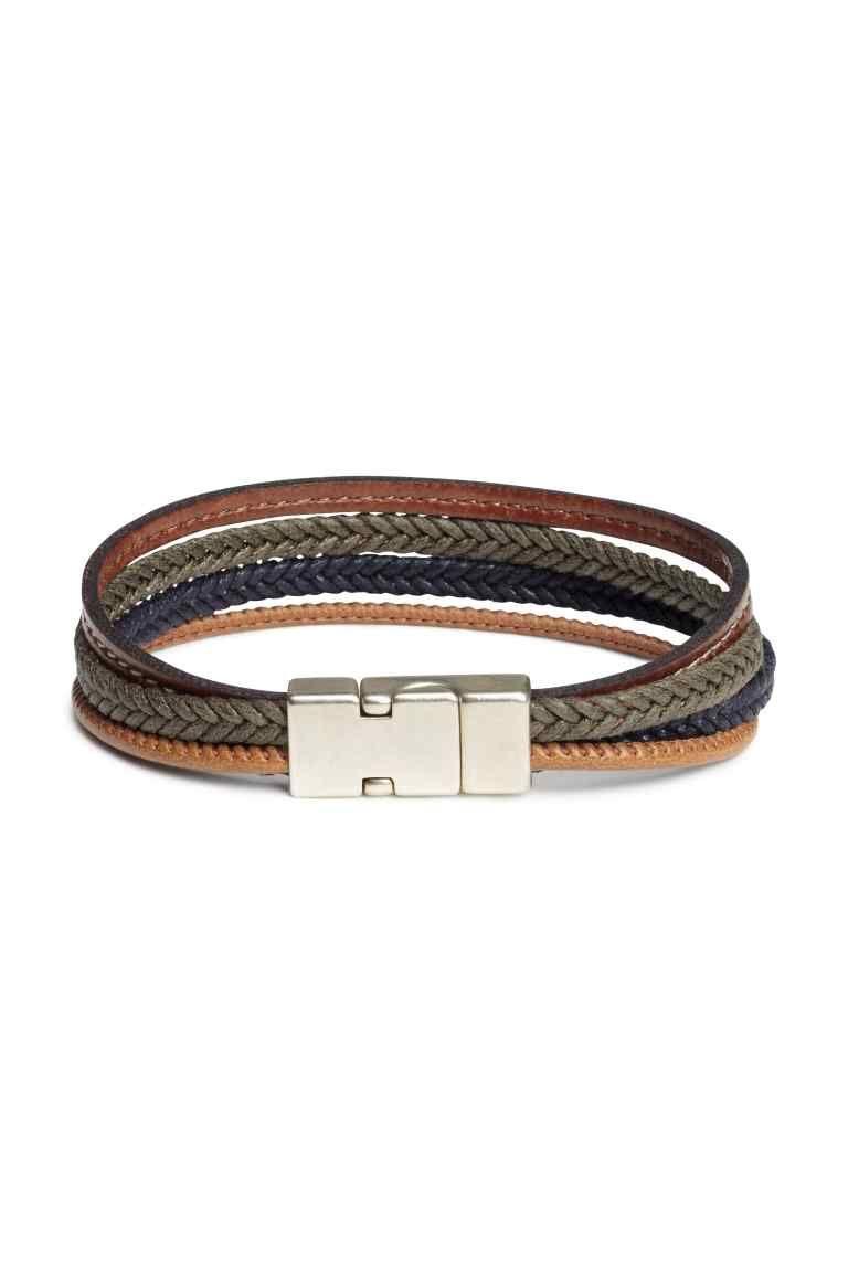 Bracelet à plusieurs rangs   Mode homme   Bracelets, Leather et Menswear 2e5775022f1