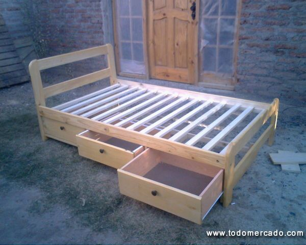 Cama camarote cama nido cama cajonera a muy buen precio y for Precio de cama nido con cajones