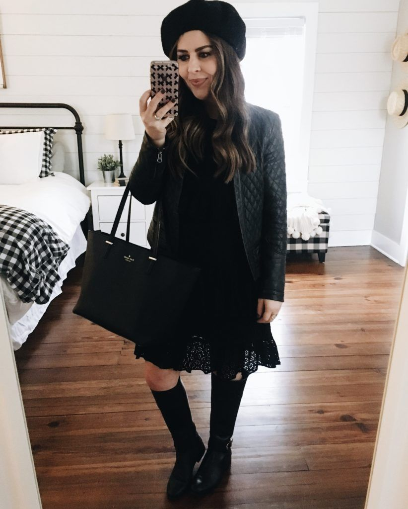 c84ad1091f44 6 ways to style an eyelet dress for winter