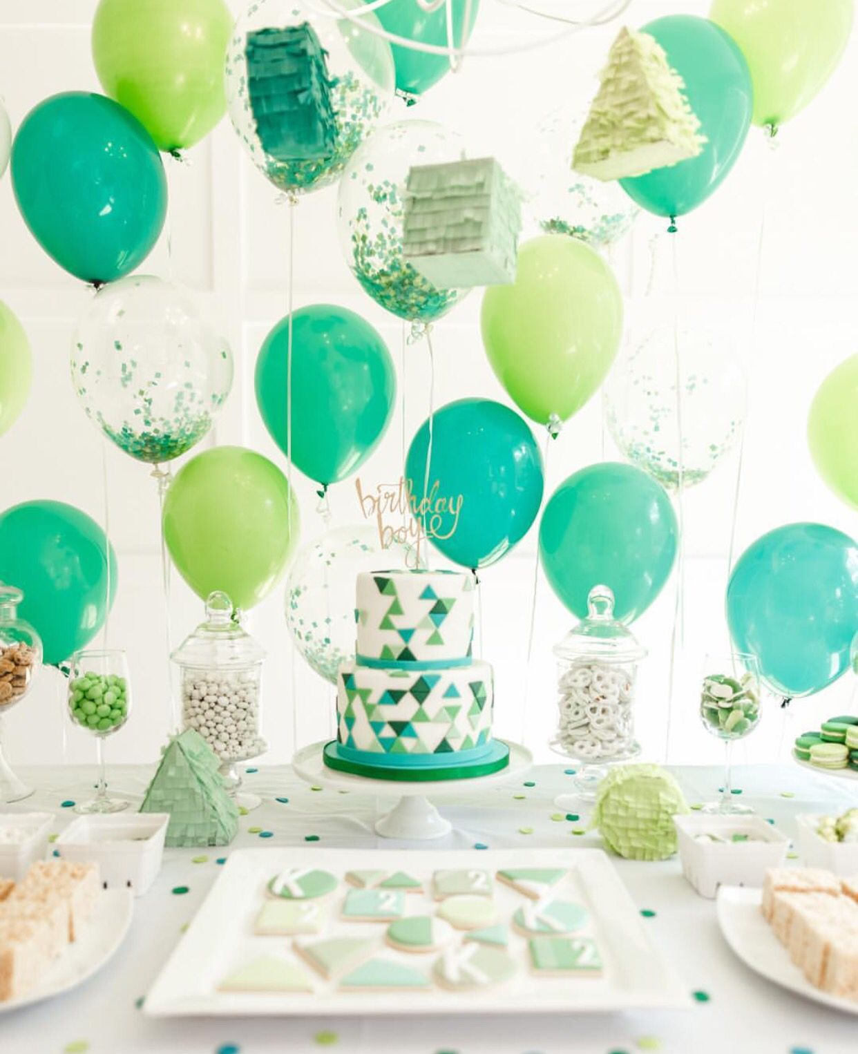2 Year Old Birthday Party Colorful Boy Parties 2nd