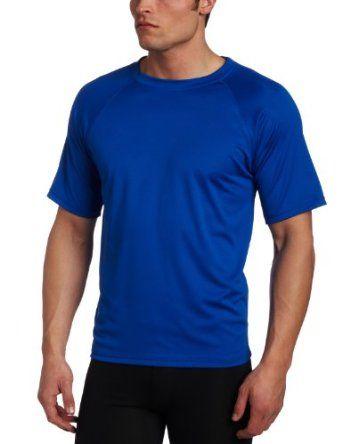 Kanu Surf Mens UPF 50 Long Sleeve Rashguard Swim Shirt