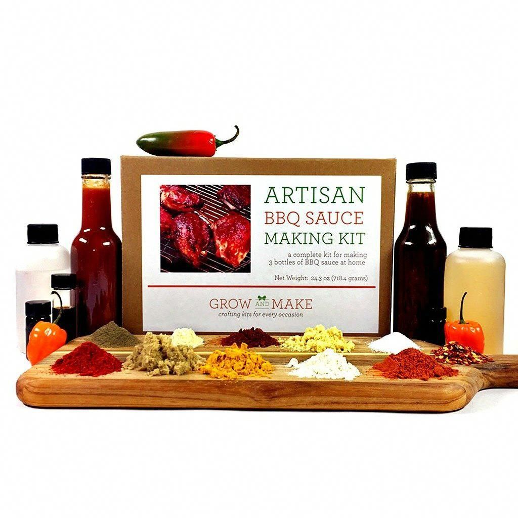 Artisan DIY BBQ Sauce Making Kit Learn how to make 3 home