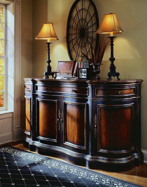 Three Drawer/Four Door Credenza   Preston Ridge   By Hooker Furniture