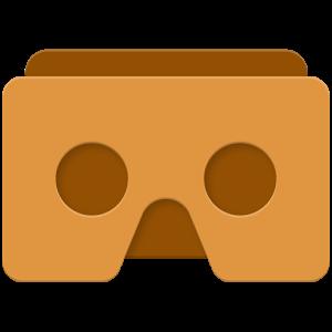 Cover art: app padrão do óculos de papelão da Google