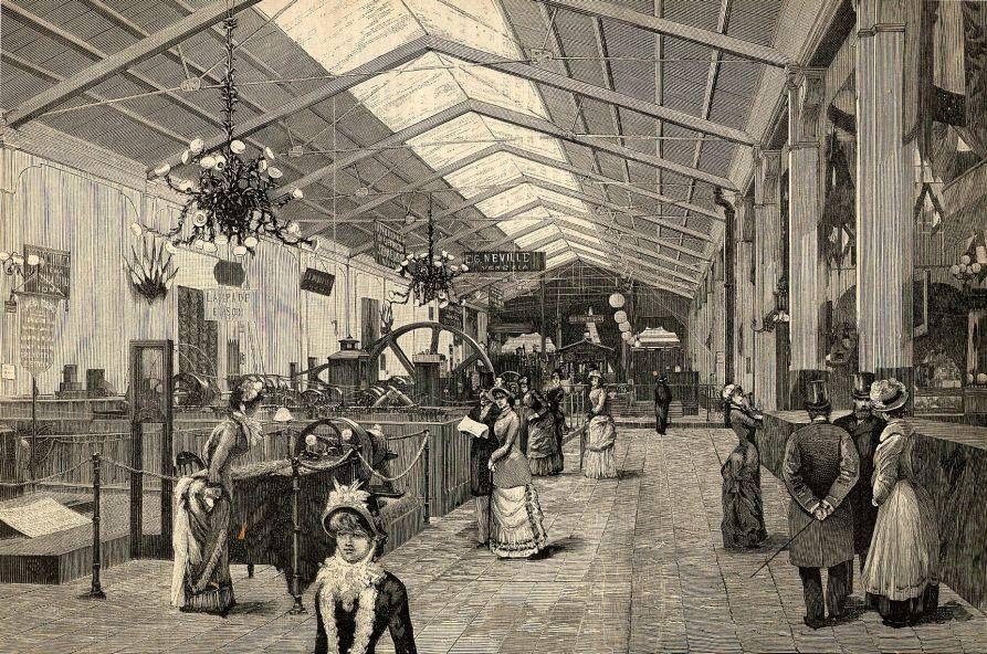 Torino esposizione 1884 galleria dell 39 elettricit for Spazio arredo torino