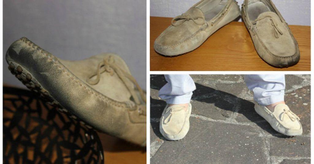 Come pulire le scarpe in pelle scamosciata o nabuk, in ...