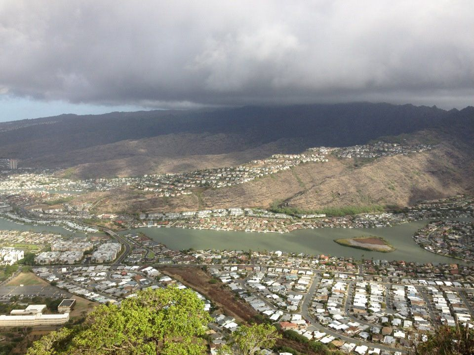View from the top of Koko Head