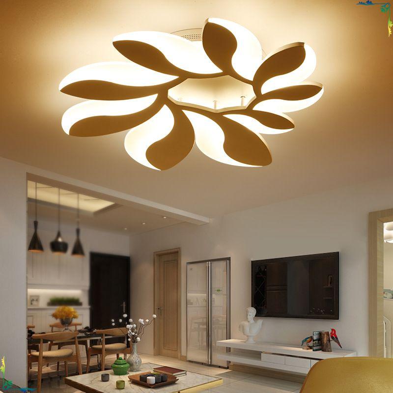 Modern led ceiling lights fixtures living lighting
