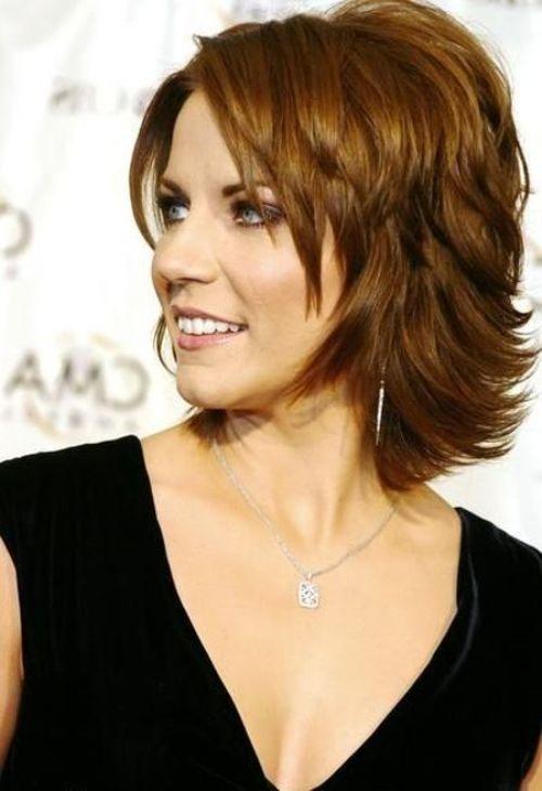 Martina Mcbride Hairstyles Google Search Medium Shag Hairstyles Shag Hairstyles Womens Hairstyles