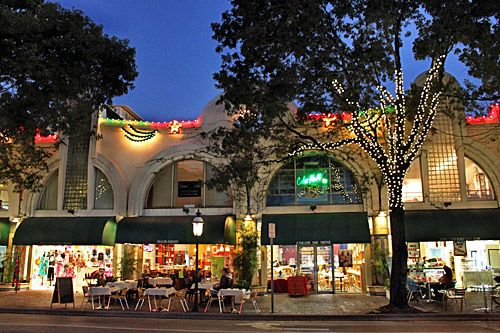 Coconut grove shops