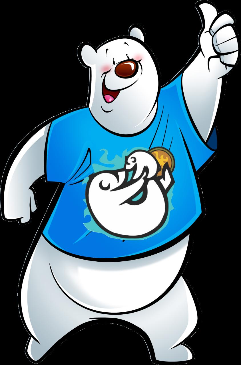 Kisspng Polar Bear Brown Bear American Black Bear Cartoon Polar Bear 5ab40ed4a6b868 7751932615217497166829 Png 844 American Black Bear Bear Cartoon Black Bear