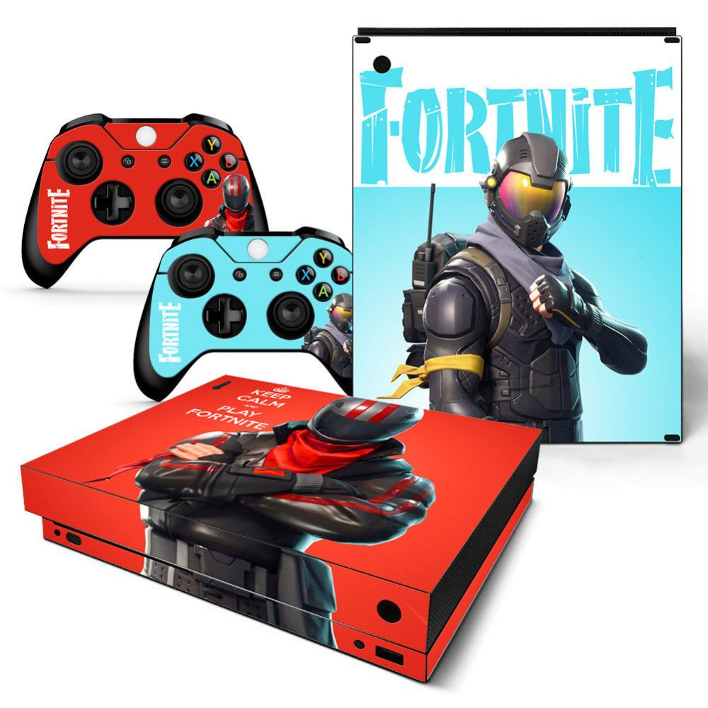 Game Fortnite Top Quality For Microsoft Xbox One X Console Vinyl