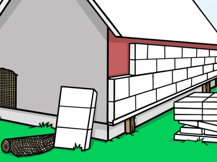 Häufig Fassade selber dämmen - Die perfekte Anleitung in 7 Schritten LW16