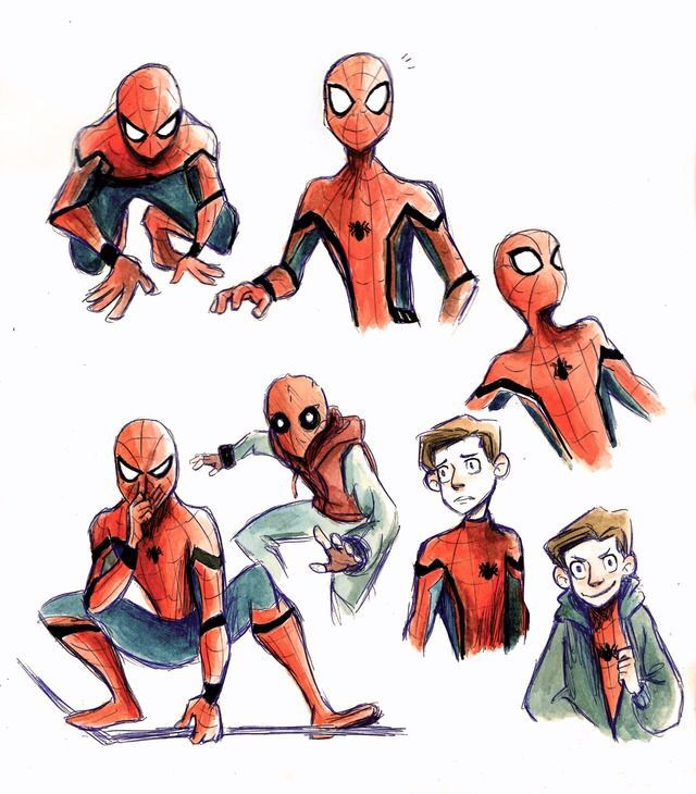 Spider Man Homecoming By Itzitxou On Tumblr Marvel Spiderman