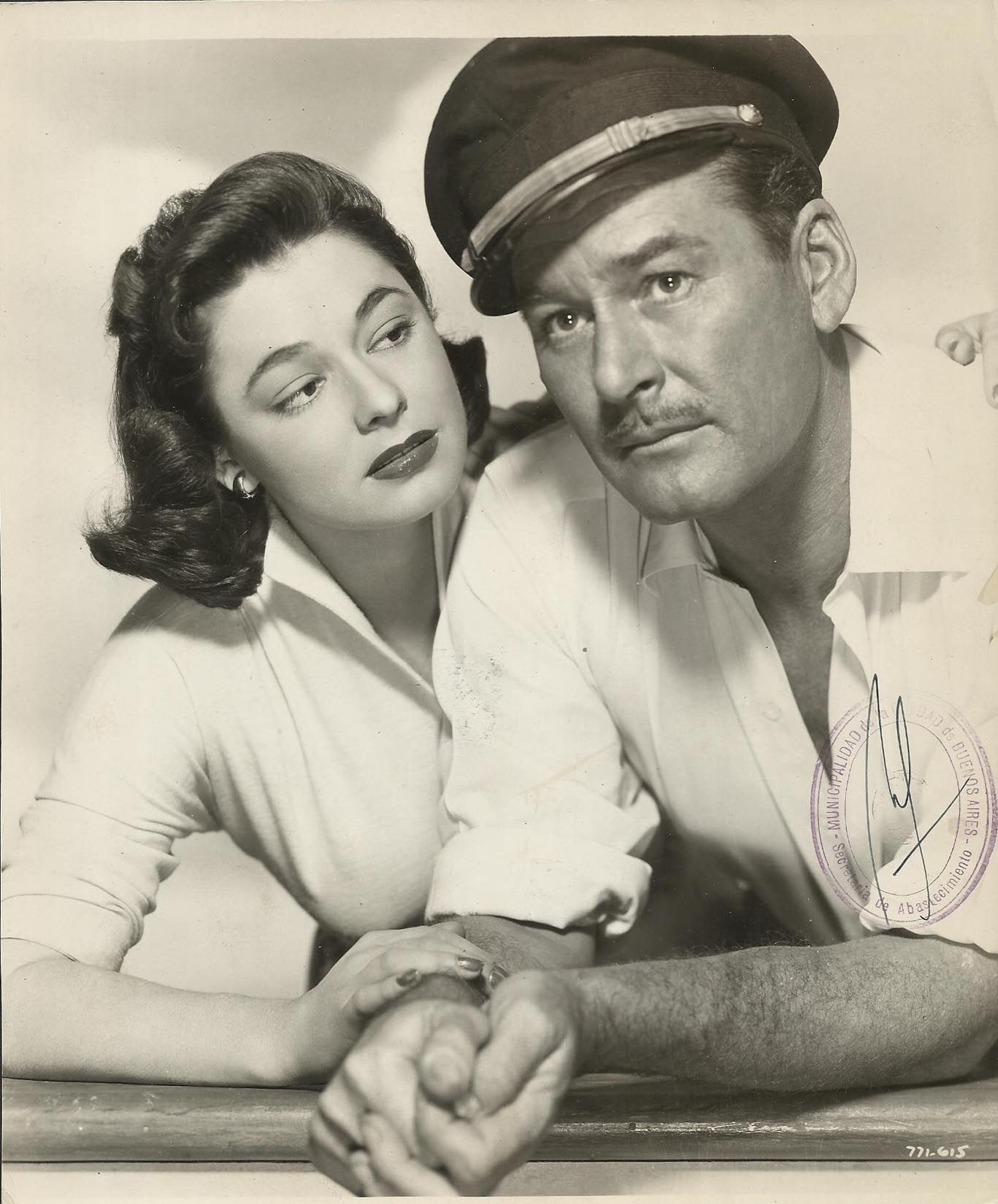 Ruth Roman and Errol Flynn, Mara Maru (1952) | Errol, Errol flynn, Ruth  roman