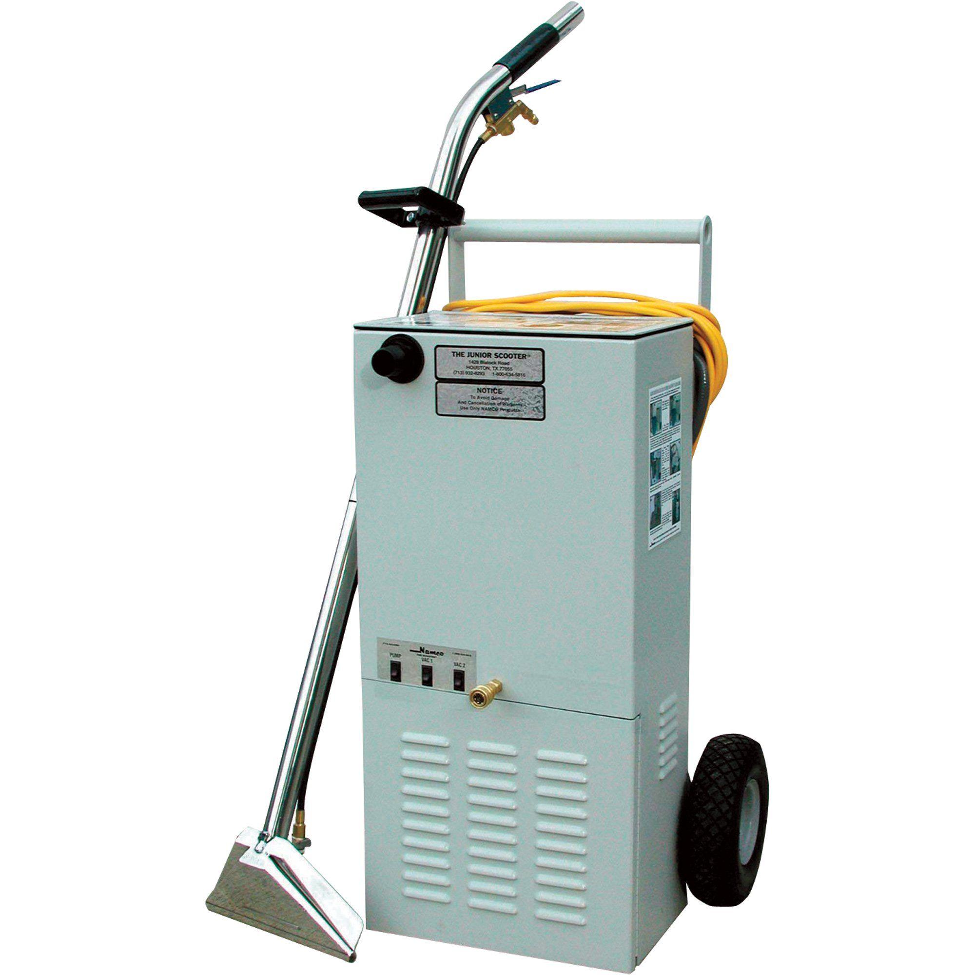 Namco Scooter Jr Carpet Cleaner Model 4108 Carpet Cleaners Carpet Cleaning Machines Carpet Cleaning Equipment