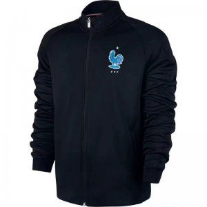 sale retailer c464f c1217 France National Team 2017 Black Third Soccer Jacket [J976 ...