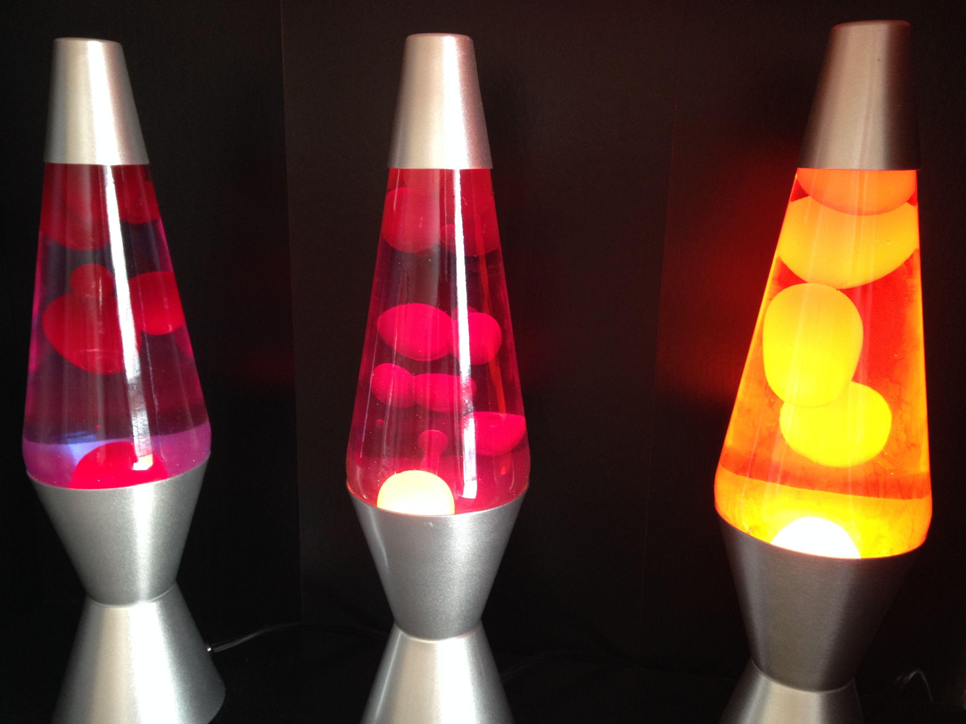 Three 14 Lava Lamps Lava Lamp Lamp Novelty Lamp