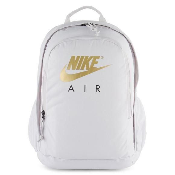 Nike Air Hayward Backpack Light Gray   Gold Perfect School Backpack  Nike   Backpack  backtoschool  firstdayofschool  cool  kids  gold  school   lifestyle ... 0d1e047fd42e5