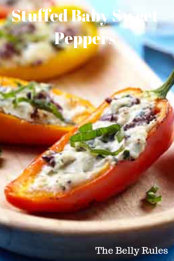 Stuffed Baby Sweet Peppers Recipe Stuffed Sweet Peppers Stuffed Peppers Sweet Pepper Recipes