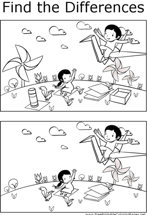 Ftd Kids And Origami Printable Coloring Page Free To Download And Print Observant Students Will Notice Several Differenc Coloring Pages Lessons Starters Kids