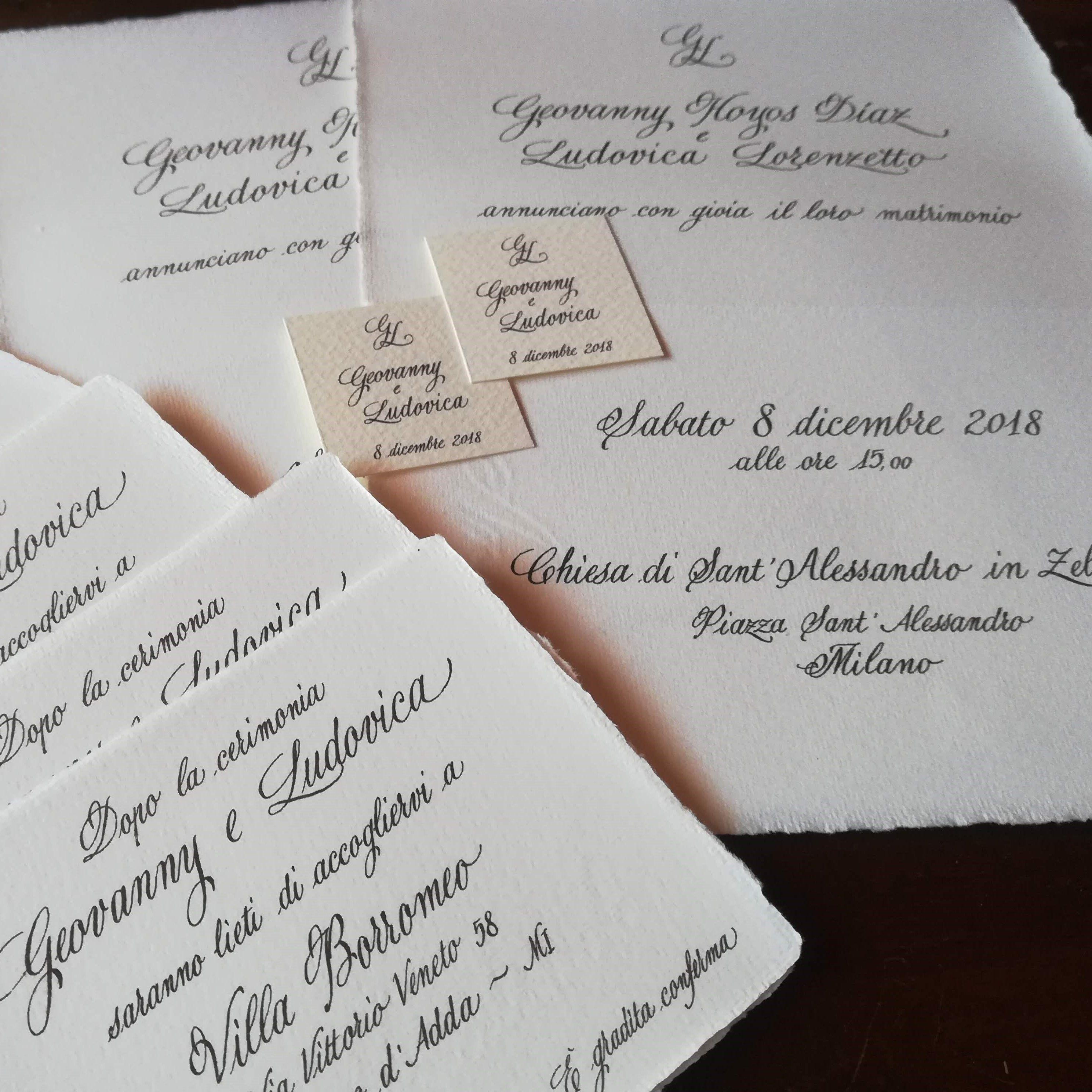 Wedding Stationery Inviti Di Nozze Partecipazioni Matrimoniali Partecipazioni Nozze