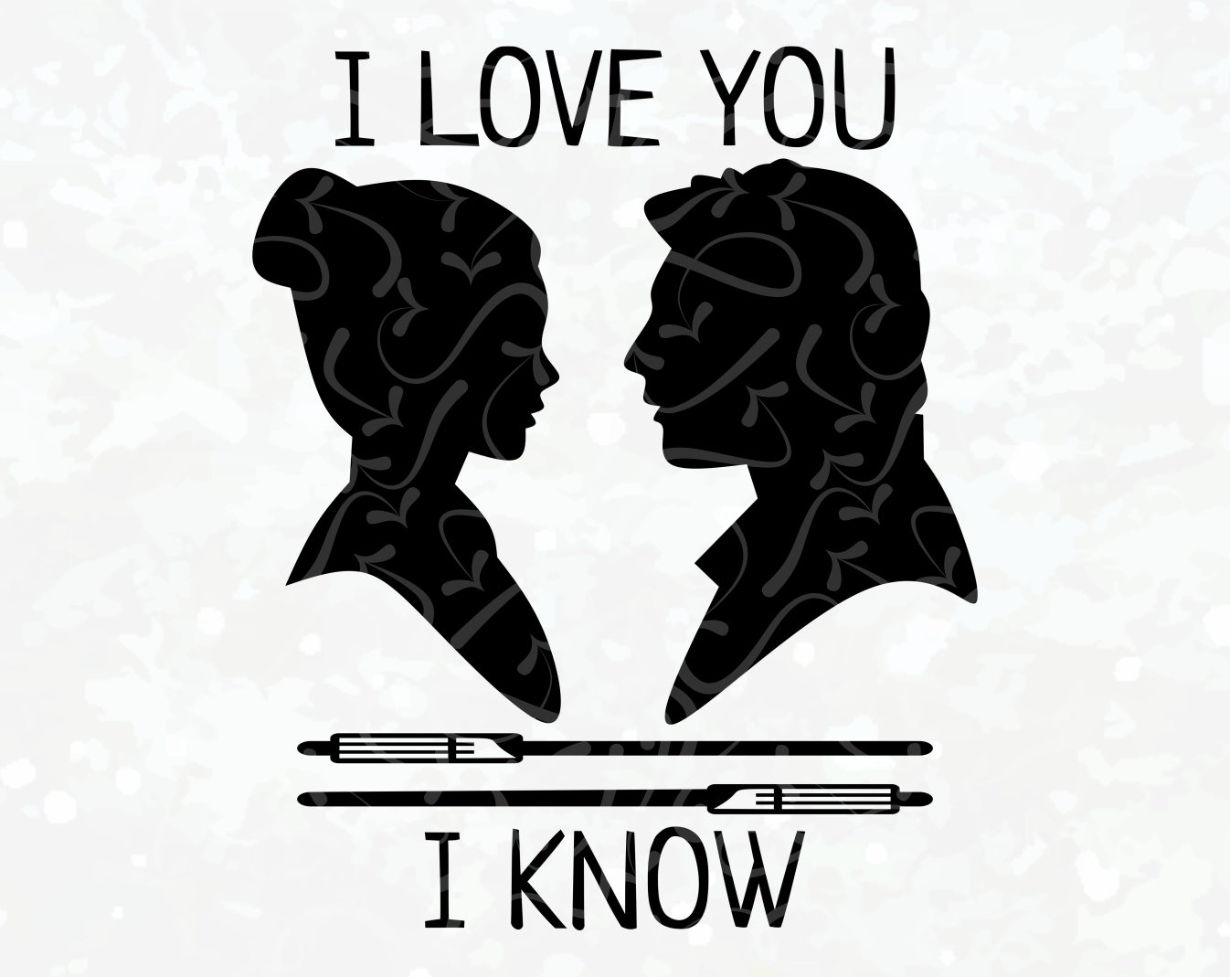 Download I Love You - I Know - I Love You I Know - I Love You SVG ...