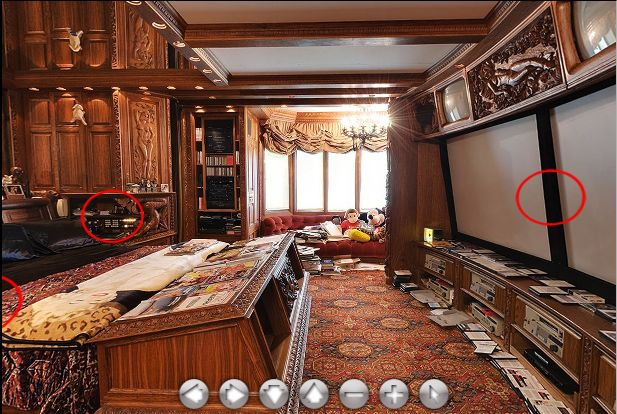 Playboy Mansion Hefner S Own Bedroom With Images