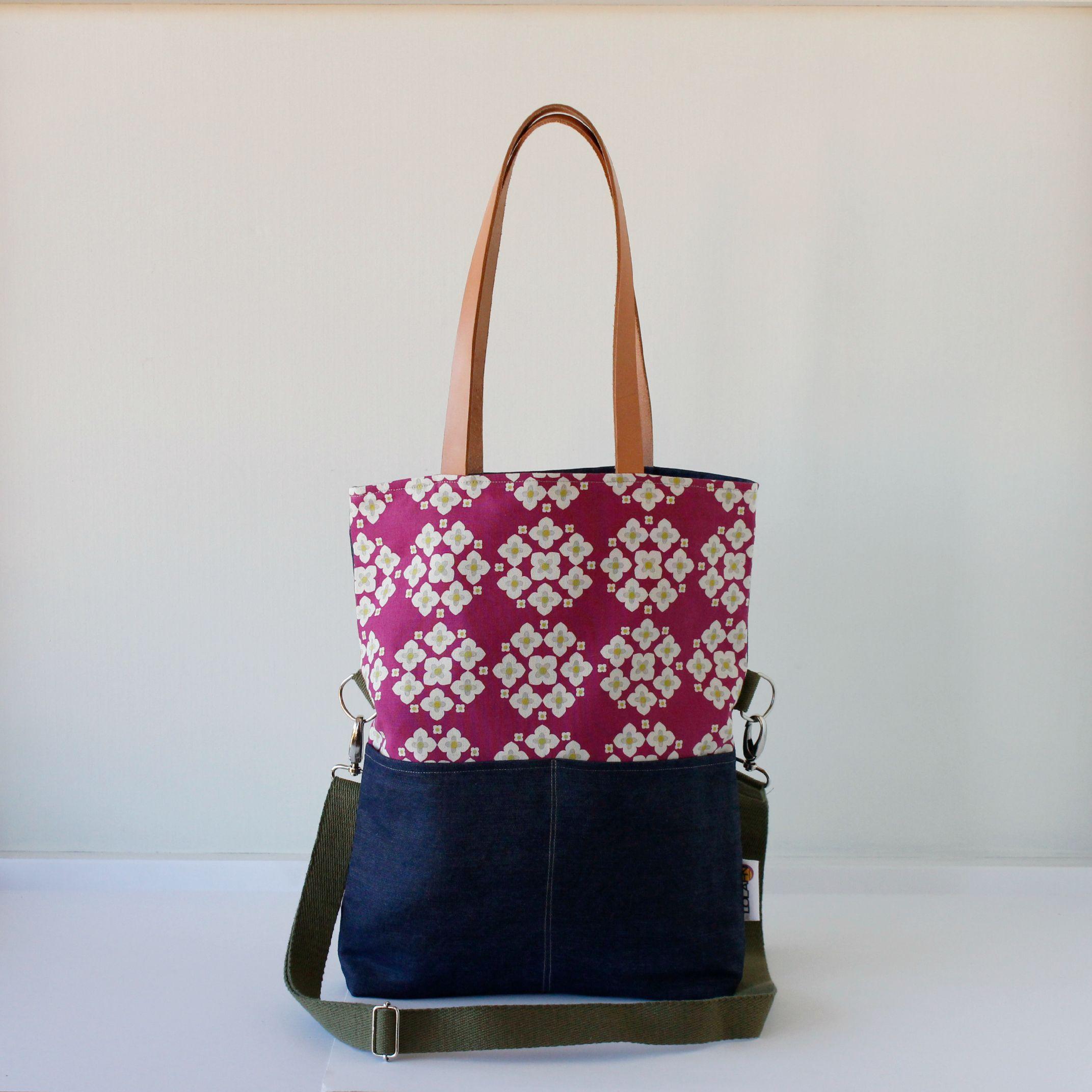 Bolsos de tela hechos a mano en espa a costuras pinterest bolsos de tela bolsos y tela - Bolsos de tela hechos en casa ...