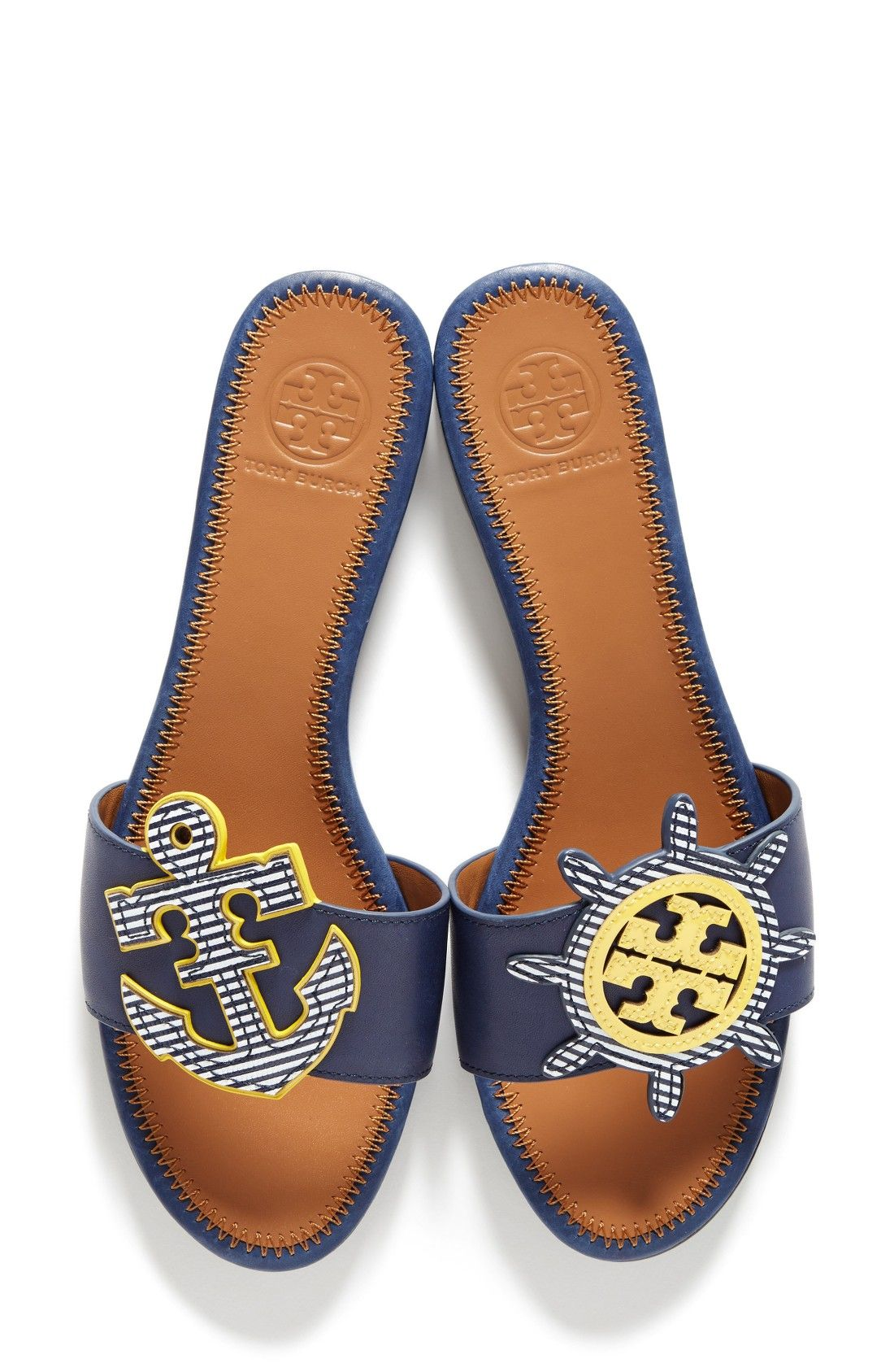 5e9ac92d8c9 Heck yes to the nautical slides you need for spring. Maritime Slide Sandal