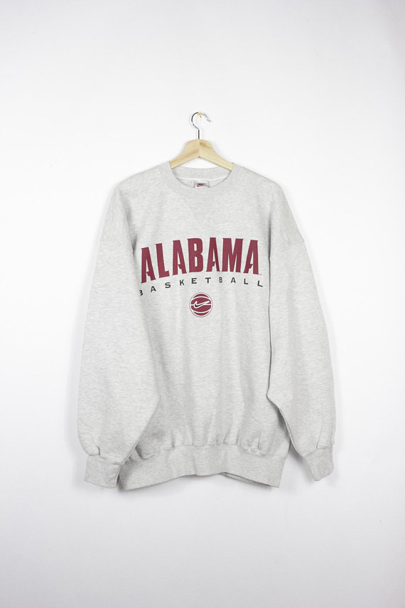 timeless design 09d17 0bc12 Vintage 90s nike alabama basketball sweatshirt - mens xl ...