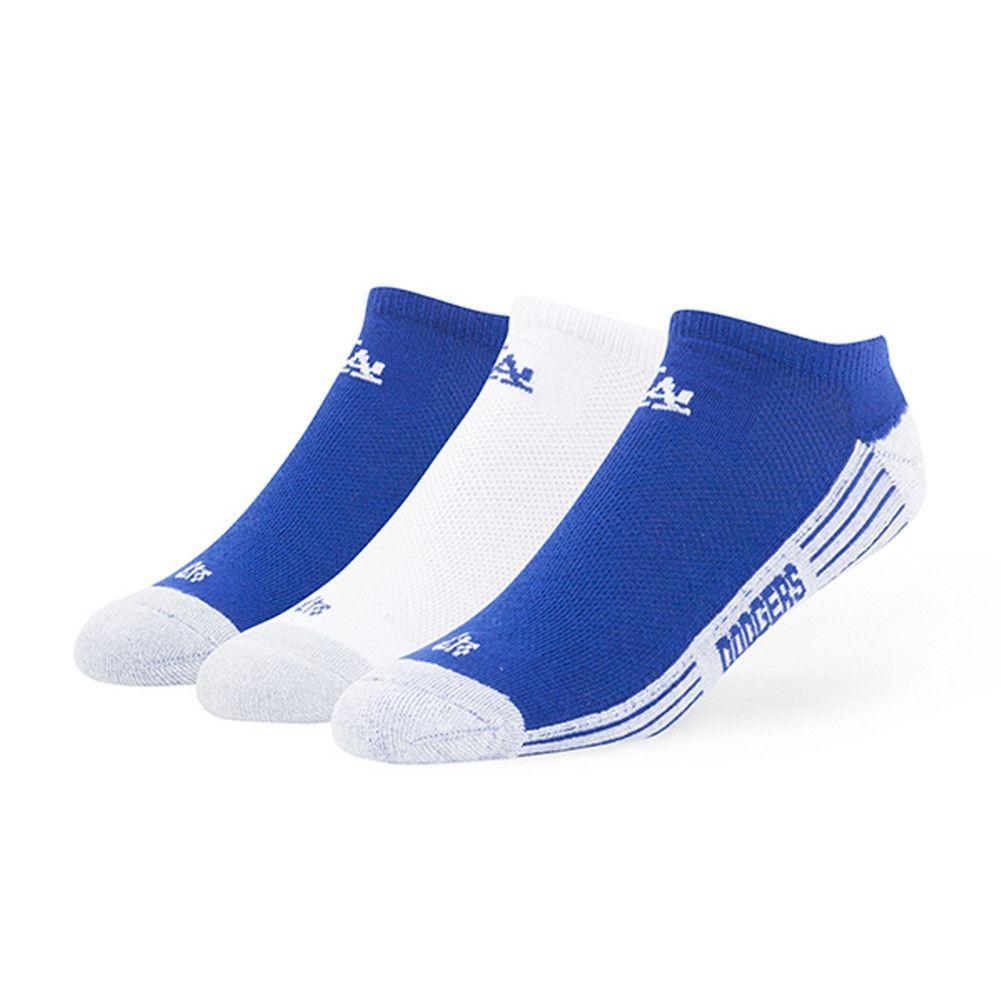 Los Angeles Dodgers - Team Color Float 3 Pack No Show Socks