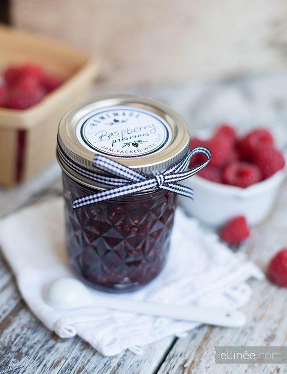 printable jam jar labels