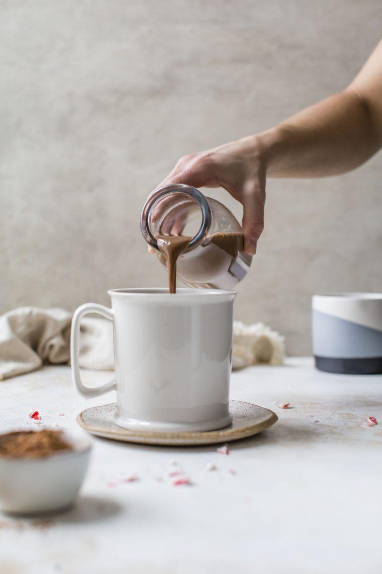 DairyFree Peppermint Mocha Coffee Creamer Recipe