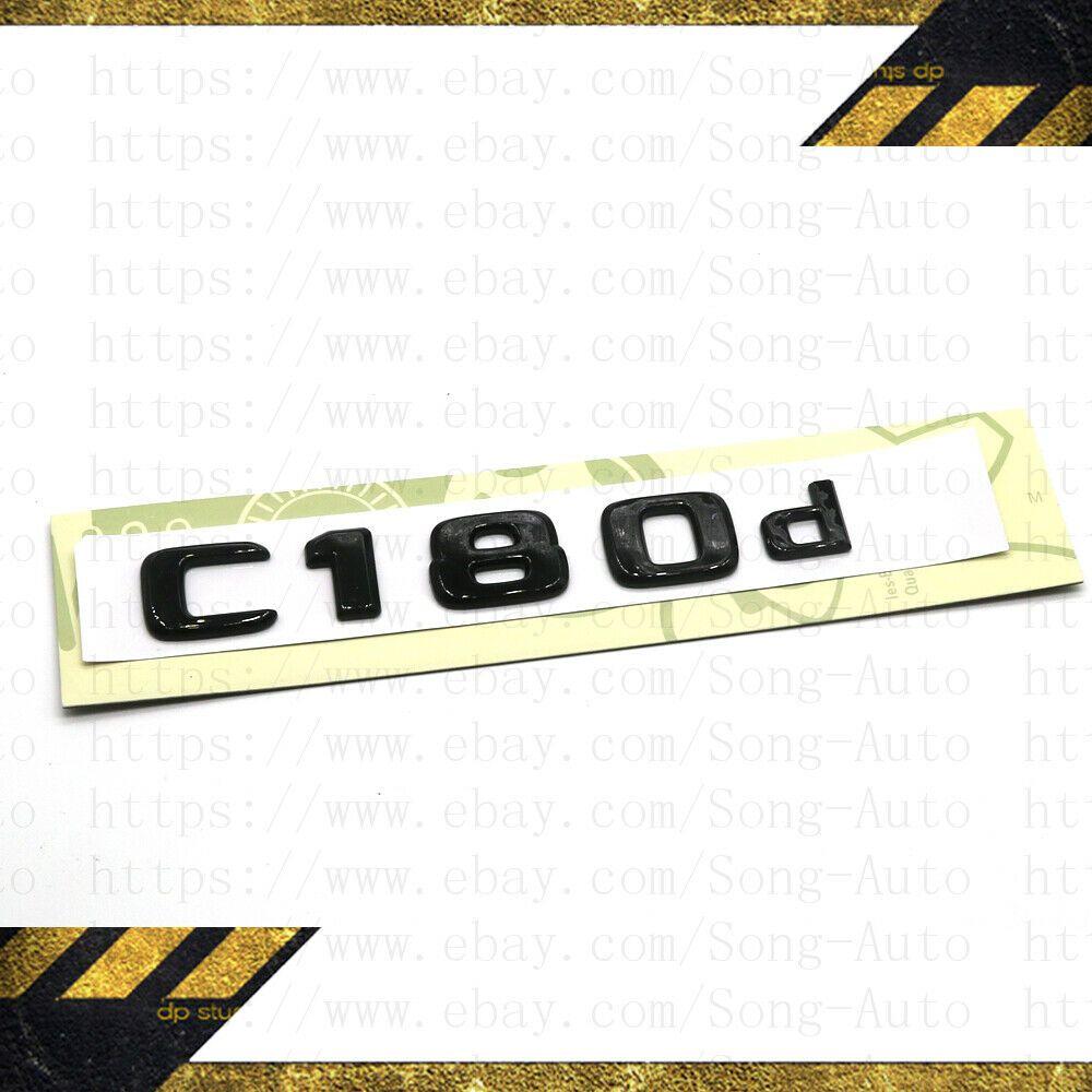 Gloss Black AMG Letters Trunk Badge Emblem Sticker for Mercedes Benz Sport AMG