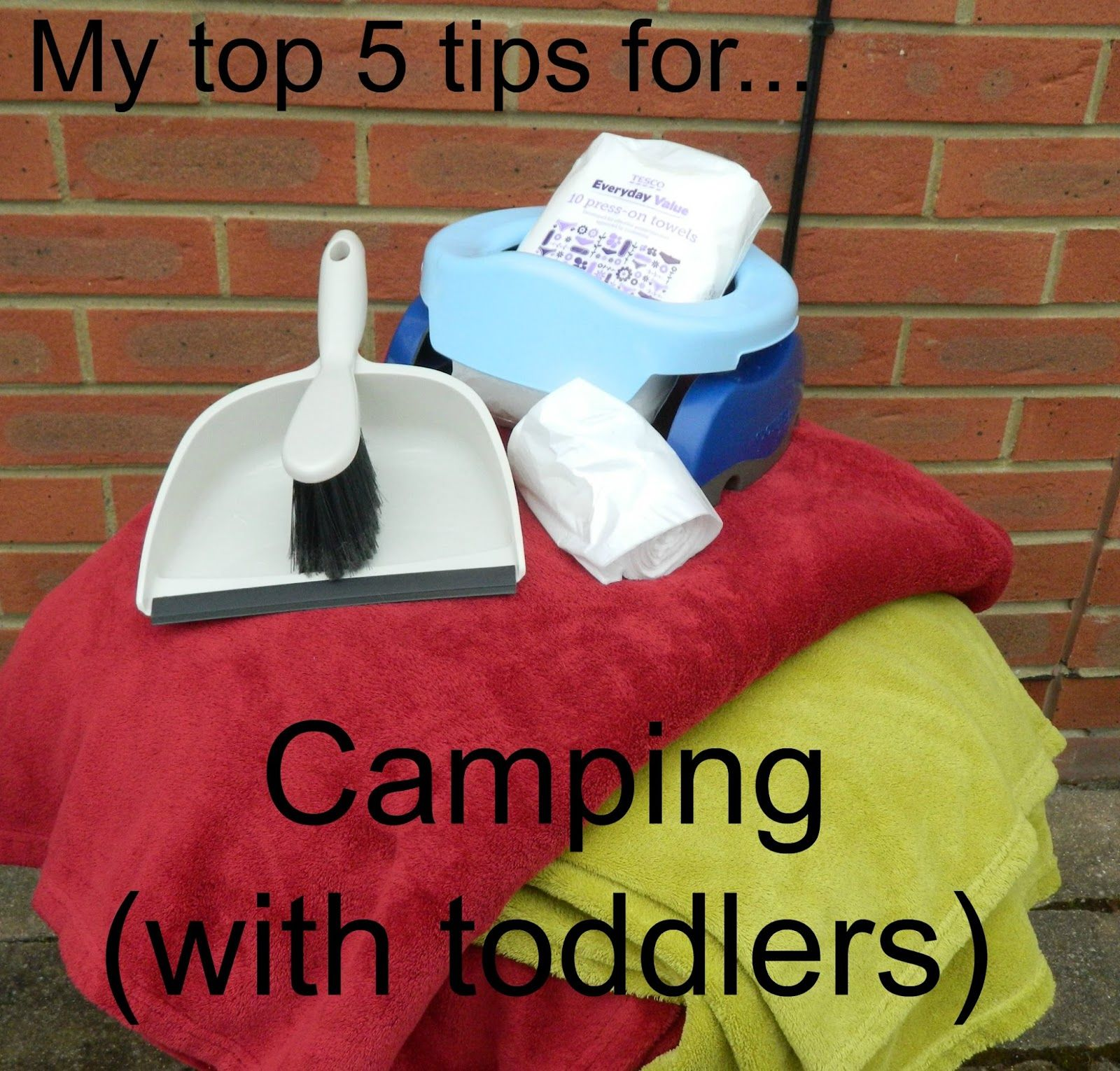 Camping with toddlers is not particularly easy so check out my