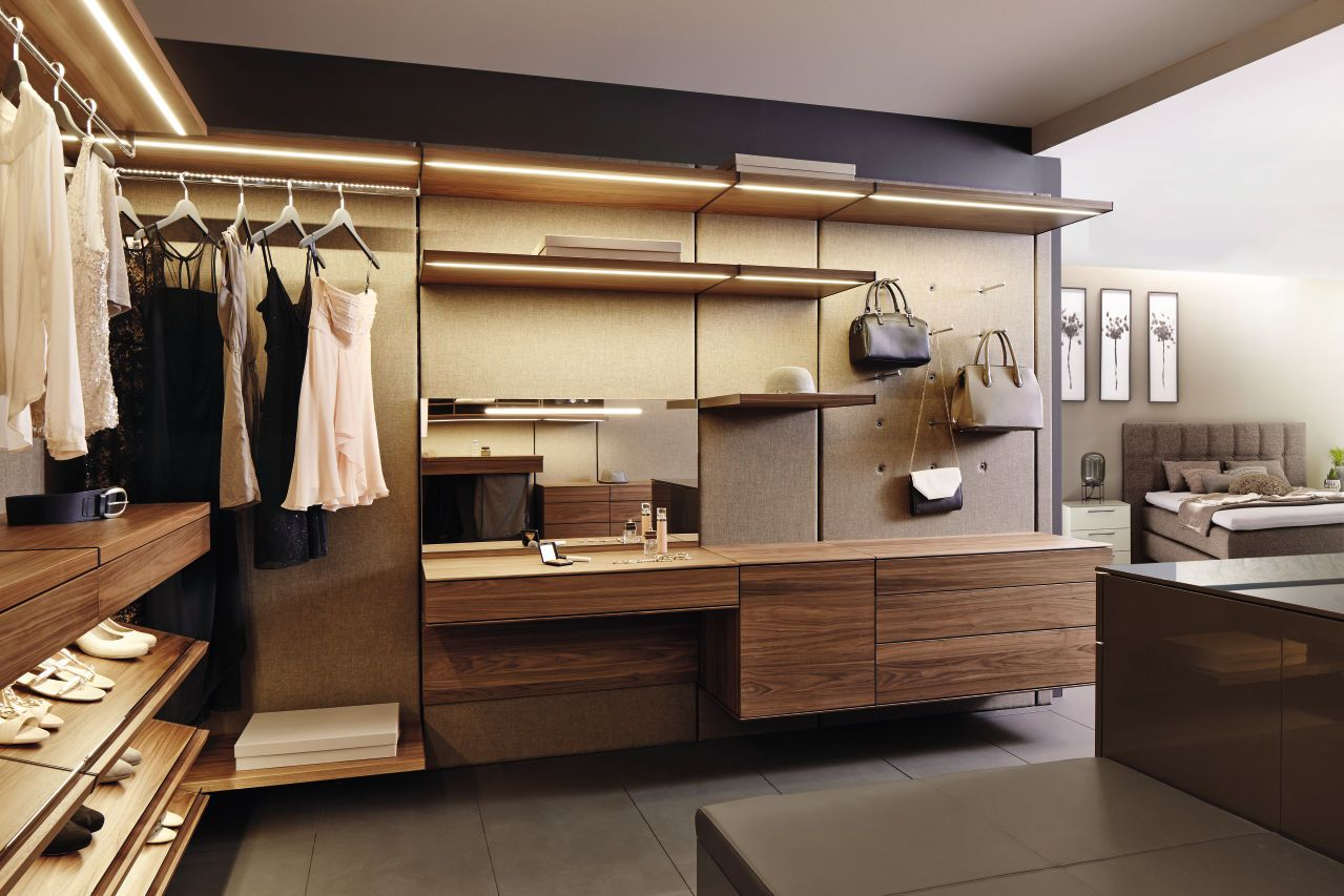 Trend  Kleiderschrank Schranksystem h lsta huelsta begehbarer Kleiderschrank Ordnungssystem wardrobe